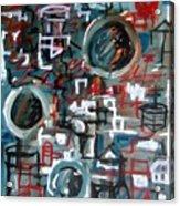 Composition No 9 Acrylic Print