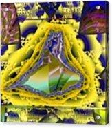 Computer Art Acrylic Print