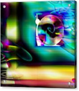 Computer Bugs Series 2 Of 7 Acrylic Print