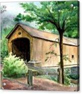 Comstock Bridge Acrylic Print