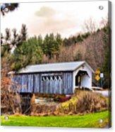Comstock Bridge Montgomery Acrylic Print