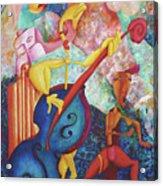 Concerto For Dingo And Tiki God Acrylic Print