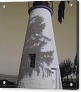 Concord Point Light Acrylic Print by Gordon Beck