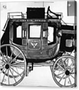 Concord Stagecoach Acrylic Print by Photo Researchers, Inc.