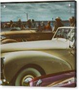 Concours Vintage Car Show Acrylic Print