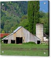 Concrete Barn Summer Ba-2008 Acrylic Print