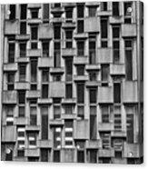 Concrete Geometry  Acrylic Print