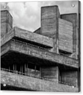 Concrete - National Theatre - London Acrylic Print