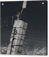 Concrete Post No 1 7257 Acrylic Print