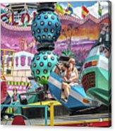 Coney Island Amusement Ride Acrylic Print