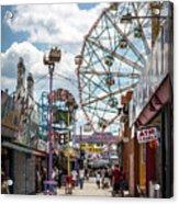 Coney Island Boardwalk IIi Acrylic Print