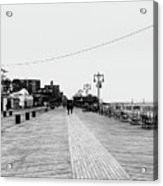 Coney Island Boardwalk Acrylic Print