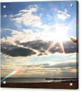 Coney Island Flare Acrylic Print
