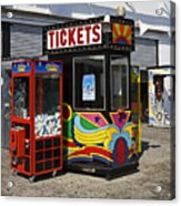 Coney Island Memories 3 Acrylic Print