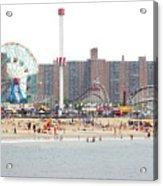 Coney Island, New York Acrylic Print