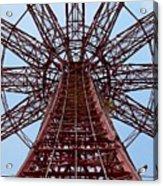 Coney Island Parachute Jump 01 Acrylic Print