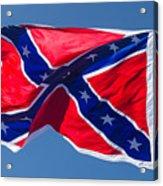 Confederate Flag 3 Acrylic Print