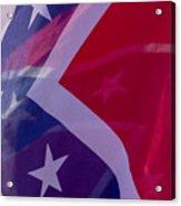 Confederate Flag 6 Acrylic Print