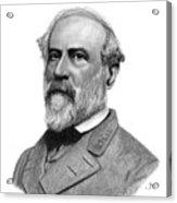 Confederate General Robert E Lee Acrylic Print