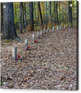 13 Unknown Confederate Soldiers - Natchez Trace Acrylic Print