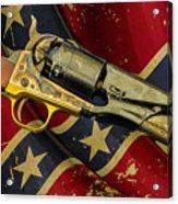 Confederate Sidearm Acrylic Print