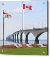 Confederation Bridge 5524  Acrylic Print
