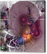 Confetti - Fractal Art Acrylic Print