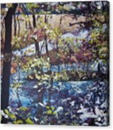Confetti Acrylic Print