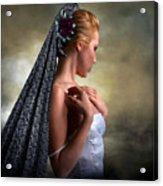 Confident Beauty Acrylic Print