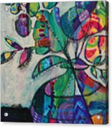 Confident Blooms.marymconner Acrylic Print
