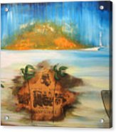 Confront A Faint Memory Acrylic Print