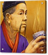 Confucian Sage Acrylic Print