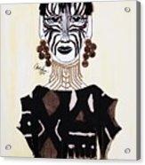 Congo Lady Acrylic Print