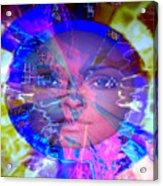 Congo Queen Mandala Acrylic Print