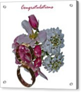 Congratulation Cards Acrylic Print