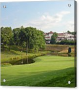 Congressional Blue Course - The Finish - Par 4 18th Acrylic Print