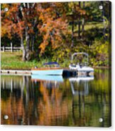 Connect Lake In The Fall Acrylic Print