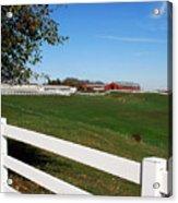 Connecticut Dairy Farm Acrylic Print