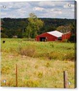 Connecticut Farm Acrylic Print