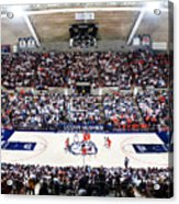 Connecticut Huskies Harry A. Gampel Pavilion Acrylic Print