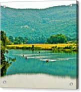 Connecticut River Between New Hampshire And Vermont Acrylic Print
