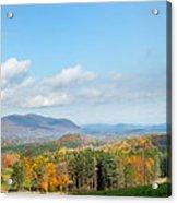 Connecticut Scenic Vista Acrylic Print