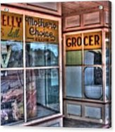Connelly Bros Store. Acrylic Print by Ian  Ramsay