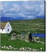 Connemara, Co Galway, Ireland Cottages Acrylic Print