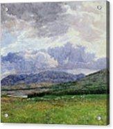 Connemara Mountains Acrylic Print
