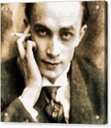 Conrad Veidt, Vintage Actor Acrylic Print