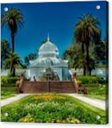 Conservatory Of Flowers - San Francisco Acrylic Print