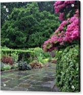 Conservatory Rain Acrylic Print