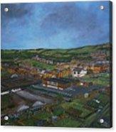 Consett, Blackhill, County Durham Acrylic Print
