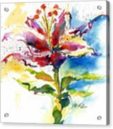 Consider The Lily Acrylic Print